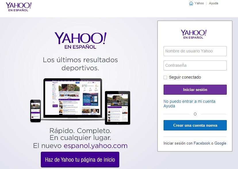 Como Iniciar Sesion en Yahoo