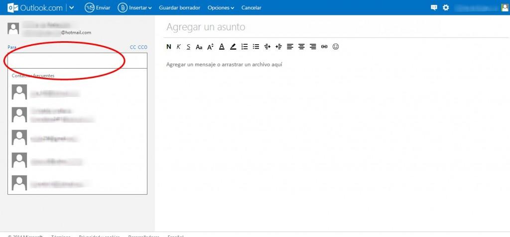 Como enviar un archivo por Outlook (Hotmail)