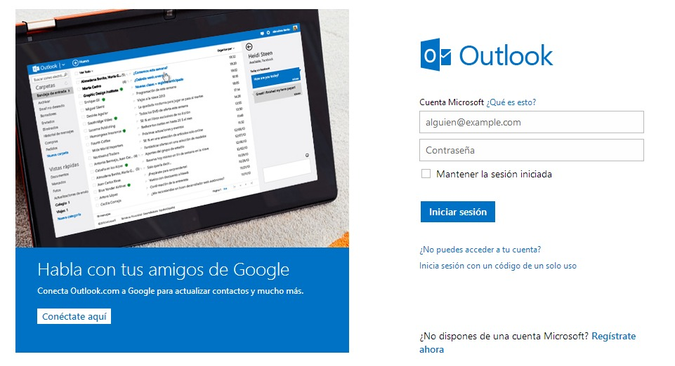 Cómo redireccionar correos de Outlook (Hotmail) a Gmail