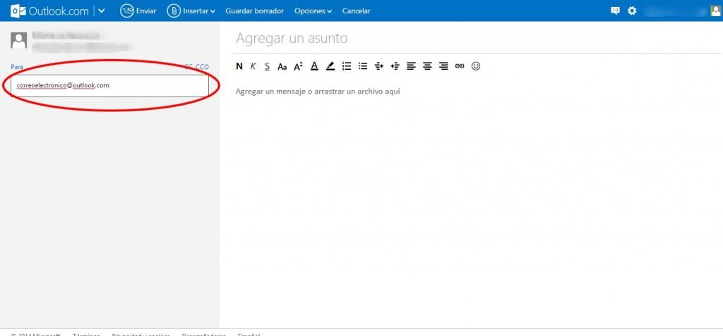 Como Enviar una Imagen por Outlook (Hotmail)