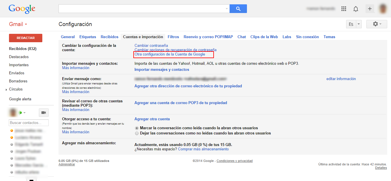 ¿Cómo cancelar, eliminar o cerrar mi cuenta de Gmail?