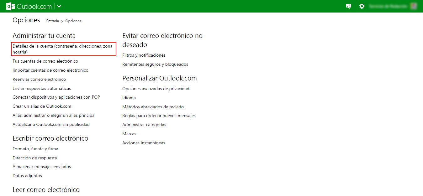 ¿Cómo cancelar, eliminar o cerrar mi cuenta de Hotmail (Outlook.com)?