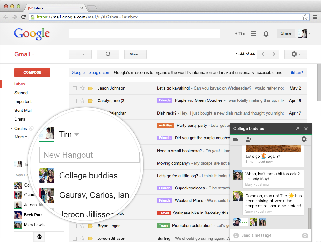 browser-hangout