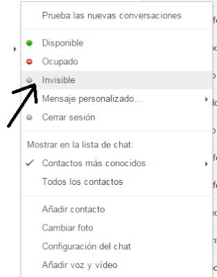 Como desctivar el Chat de Gmail