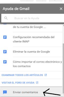 ayuda de gmail