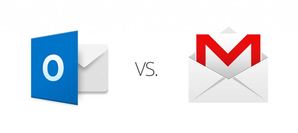 outlook vs gmail